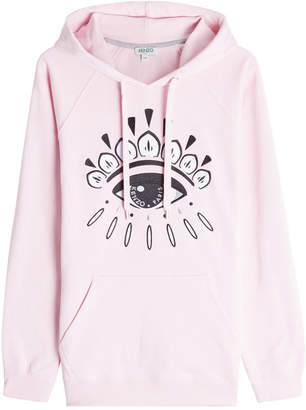 Kenzo Embroidered Cotton Hoody