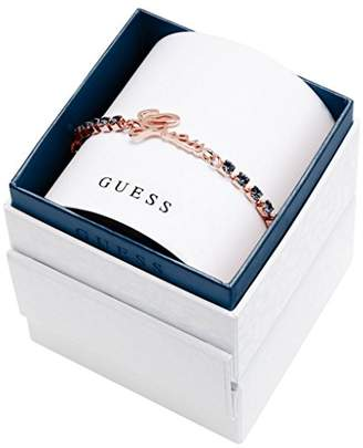 GUESS Women'S Bracelet Brass/Glass 20 cm Blue-UBS21505–S