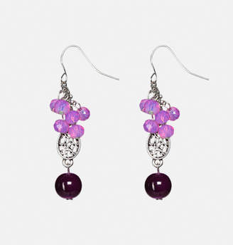Avenue Plum Shaker Drop Earrings