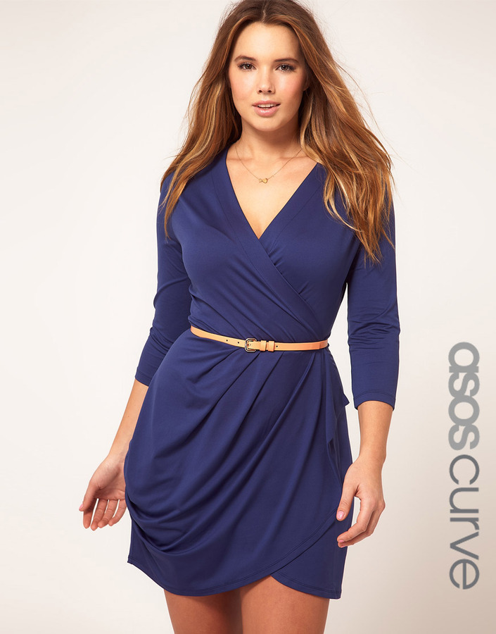 Asos Exclusive Wrap Dress