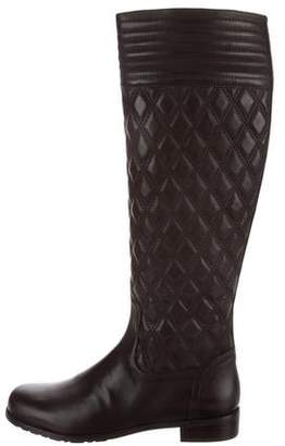 Stuart Weitzman Clute Quilted Knee-High Boots
