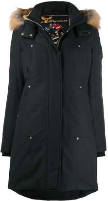 Moose Knuckles fur-trimmed parka coat