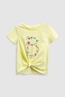 Next Girls Green Short Sleeve T-Shirt (3-16yrs)