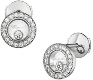 Chopard Happy Diamonds Icons 18ct White Gold Diamond Earrings
