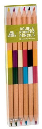 Kid Made Modern - Double-Pointed Colored Pencils - 12ct $3.99 thestylecure.com