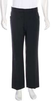 HUGO BOSS High-Rise Wide-Leg Dress Pants