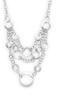 Rivka Friedman Chains Triple-Layered Necklace