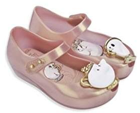 Mini Melissa Baby's, Toddler's & Kid's Ultra Girl Beauty & the Beast Mary Jane Flats size 5/6/8/9/10