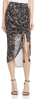 Rebecca Minkoff Romy Floral Skirt $138 thestylecure.com