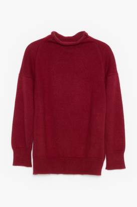 Genuine People High Neck Cashmere Sweater