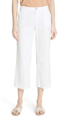 ATM Anthony Thomas Melillo Cotton Poplin Crop Pants
