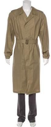 Burberry Belted Lightweight Coat
