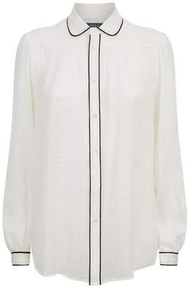 Polo Ralph Lauren Textured Silk Shirt