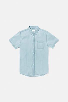 Saturdays NYC Esquina Button Down Denim Shirt