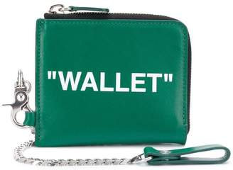 Off-White chain wallet