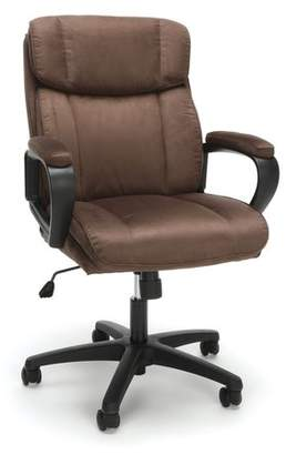 Winston Porter Dillsboro Plush Office Chair Color : Brown