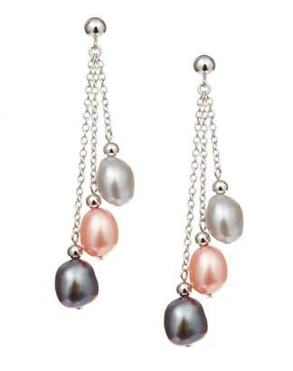 Honora Style 8 to 9 MM Fresh Water Pearl Drop Earrings