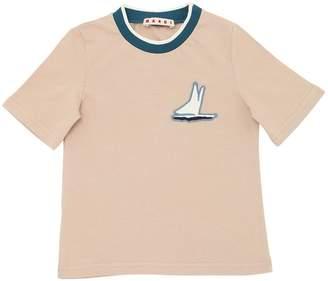 Marni Junior Cotton Jersey T-Shirt