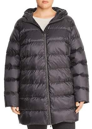 Eileen Fisher Plus Down Puffer Coat