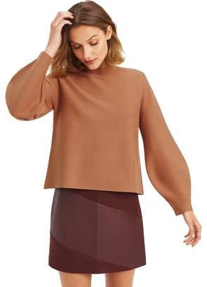 Oasis - Camel 'Annie' Blouson Knit