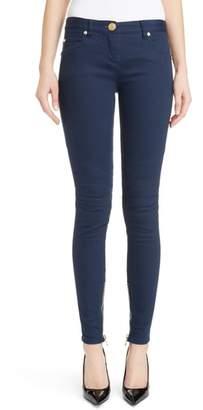 Balmain Skinny Moto Jeans