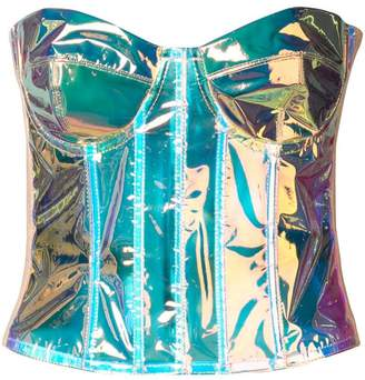 4bfcddefee Natasha Zinko strapless corset top
