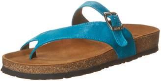 Naot Footwear Women's Tahoe Toe Ring Sandal, Aqua Marine