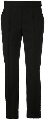 Vera Wang slim-fit trousers