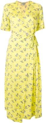 Baum und Pferdgarten floral-print wrap dress