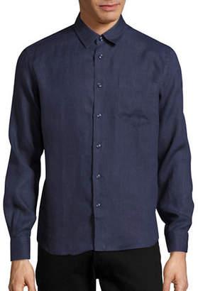 Vilebrequin Caroubis Classic-Fit Linen Sport Shirt