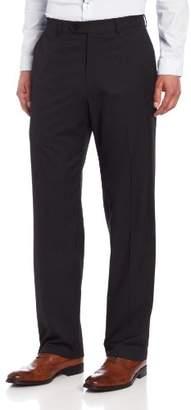 Haggar Men's Big & Tall Striped Plain-Front Suit-Separate Pant