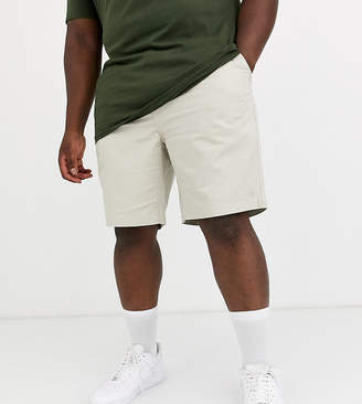 Polo Ralph Lauren Big & Tall Prepster player logo chino shorts in stone