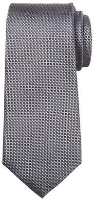 Banana Republic Textured Grid Silk Nanotex® Tie