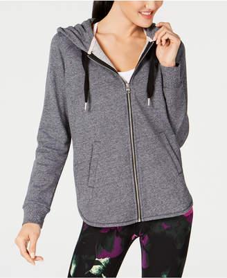 Calvin Klein Cutout-Sides Zip Hoodie