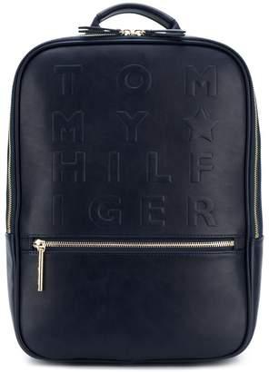 Tommy Hilfiger embossed logo backpack
