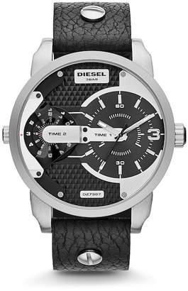 Diesel Men's Mini Daddy Quartz Watch, 46mm