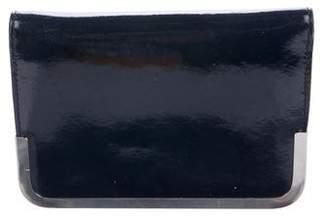 Theyskens' Theory Arni Patent Leather Clutch