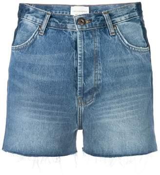 Les Coyotes De Paris high waist denim shorts