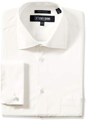 Stacy Adams Stacy Adam's Men's Adjustable Collar Dress Shirt