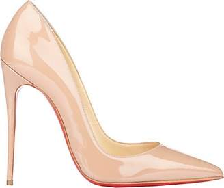 Christian Louboutin Women's So Kate Patent Leather Pumps - Nudeflesh
