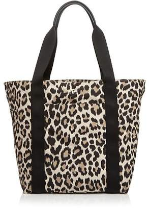 Kate Spade That's The Spirit Large Leopard Print Tote