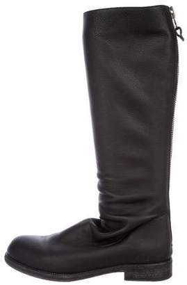 Henry Beguelin Leather Knee-High Boots