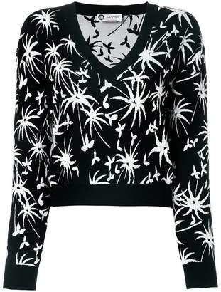 Lanvin cropped V-neck jumper