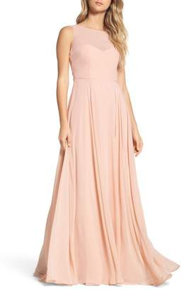 Jenny Yoo Collection Elizabeth Chiffon Gown