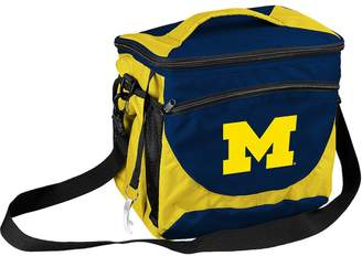 NCAA Logo Brand Michigan Wolverines 24-Can Cooler