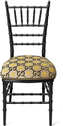 Gucci Chiavari chair with GG jacquard