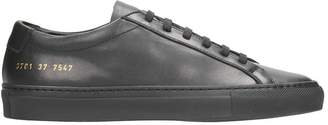 Common Projects Original Achilles Low Black Leather Sneakers