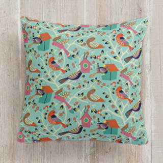 Home Tweet Home Square Pillow