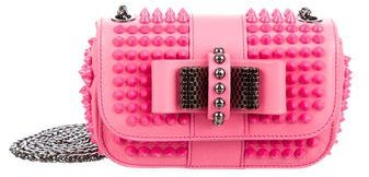 Christian Louboutin  Christian Louboutin Studded Sweet Charity Bag