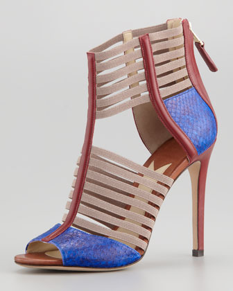 Brian Atwood Langden Stretch Cage Sandal